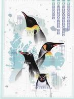TAAF FSAT 2018 Bloc Sheet Manchots - Birds Aves Penguin 4v MNH - Terres Australes Et Antarctiques Françaises (TAAF)
