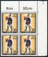 BERLIN, Nr. 176, VIERERBLOCK-ECKRAND-OBERRAND, RECHTS, POSTFRISCH, Mi. 4,80 - [5] Berlin