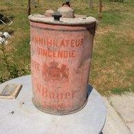 Annihilateur D'incendie Vers 1900 Feu Pompier - Outils