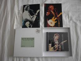 Keith RICHARD - Interview 1983 - CD + PHOTOS - Rock