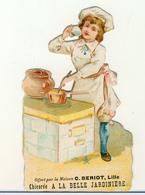 LILLE BERIOT CHICOREE   A  LA BELLE JARDINIERE   DECOUPI CARTONNE  CUISINIER CASSEROLES - Tè & Caffè