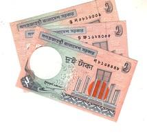Bangladesh 2 Taka  3 Notes  Unc - Bangladesh