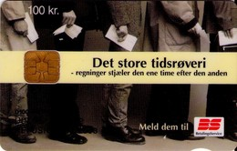 TARJETA TELEFONICA DE DINAMARCA. DD212N,  Bs Tidsroevere (TIRADA 23253). (103) - Dinamarca