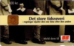TARJETA TELEFONICA DE DINAMARCA. DD212E,  Bs Tidsroevere (TIRADA 24460). (105) - Dinamarca