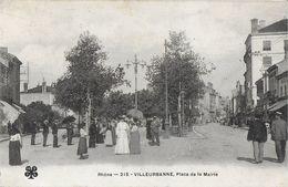 VILLEURBANNE 69 RHONE 215 PLACE DU MARCHE EDIT. MTIL - Villeurbanne