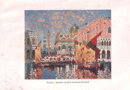 Venedig (nach Einem Gemälde Von Prof.Konstantin Gorbatoff / Druck, Entnommen Aus Zeitschrift / 1930 - Books, Magazines, Comics