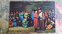 Asia, Mongolia Traditional Opera - Mongolia