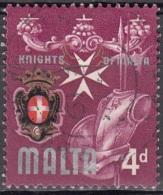 Malta 1965 Michel 307 O Cote (2006) 0.20 Euro Armoiries De Malta Cachet Rond - Malte