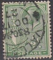 Malta 1926 Michel 116 O Cote (2006) 0.20 Euro Roi George V Et Armoirie Cachet Rond - Malte