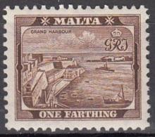 Malta 1938 Michel 176 Neuf ** Cote (2006) 0.10 Euro Port De La Valetta - Malte