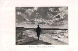 Der Wanderer (Aufnahme Von August Rumbucher Jr.) / Druck, Entnommen Aus Zeitschrift / 1930 - Books, Magazines, Comics