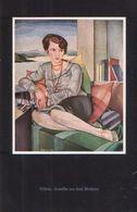 Bildnis (nach Einem Gemälde Von Karl Blocherer) / Druck, Entnommen Aus Zeitschrift / 1930 - Books, Magazines, Comics