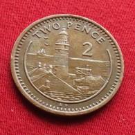 Gibraltar 2 Pence 1988 AD KM# 21  Gibilterra - Gibraltar