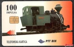 Bosnia PTT Sarajevo -  100 Units  Used - Bosnia
