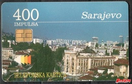 Bosnia PTT Sarajevo -  400 Units  Used - Bosnia