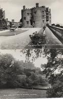 TWO REAL PHOTOGRAPHIC POSTCARDS - POWIS CASTLE - WELSHPOOL - MONTGOMERYSHIRE - Montgomeryshire