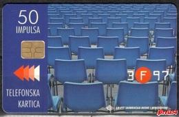 Bosnia PTT Sarajevo -Sarajevo Film Festival 50 Units  Used - Bosnia