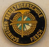 SCHWEIZER BERGS TEIGERSCHULE - FIESCH - SCHWEIZ - ECOLE D'ALPINISME - SUISSE - PIOLET - CORDE    -      (20) - Alpinism, Mountaineering