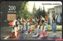 Bosnia PTT Sarajevo - 200 Units  Used - Bosnia