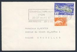 France Rep. Française 1982 Cover / Brief / Enveloppe - Semaine De L'Imprimerie / Week Of Printing / Woche Des Druckens - Fabrieken En Industrieën