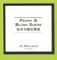 Cartes Parfumées  CARTE  JO MALONE LONDON ASIATIQUE PEONY  & BLUSH SUÈDE - Modern (from 1961)