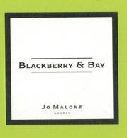 Cartes Parfumées  CARTE  JO MALONE LONDON  BLACKBERRY  & BAY - Modern (from 1961)