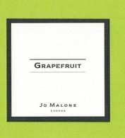 Cartes Parfumées  CARTE  JO MALONE LONDON   GRAPEFRUIT - Modern (from 1961)