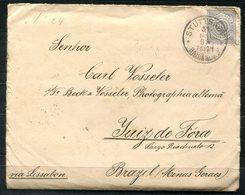 6969 - WÜRTTEMBERG - Nr. 47 Auf Brief Nach Juiz De Fora, Brasilien, Bundesstaat Minas Gerais - Wuerttemberg