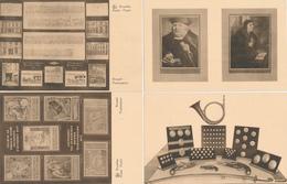 ZZ782 - Série Complète 10 X Entier Illustré Petit Sceau 35 C Musée Postal - Cachet Dito 7/11/1936 - Catalogue SBEP No 28 - Stamped Stationery