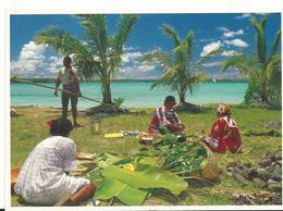 Nouvelle Caledonie Preparation Du Bougnat - Nouvelle-Calédonie