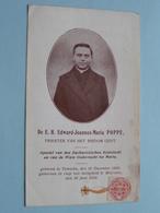 De E.H. Edward Joannes-Maria POPPE Bisdom Gent ( RELIKWIE - RELIQUIARIO - RELIC - RELIQUARY - RELIQUAIRE ) GEBED ! - Religion & Esotericism