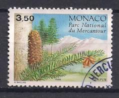 YT N° 1800 -  Oblitéré -  Conifères Du Mercantour - Mónaco