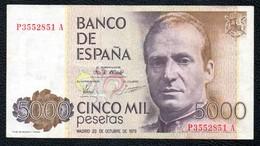 5000 Pts - [ 4] 1975-… : Juan Carlos I