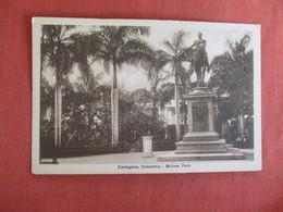Bolivar Park  Cartagena Colombia Ref 3010 - Colombia