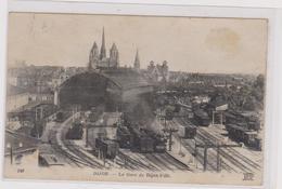 CPA  LA GARE DE DIJON-VILLE- Trains -rails - Dijon