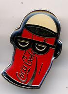 """{07113} Pin's """" Coca-cola """".                """" En Baisse """" - Coca-Cola"""