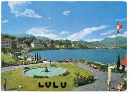 SUISSE : édit. Engelberger Stans : Lugano Paradise , Quai - TI Ticino