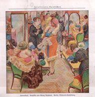 Hutverkauf (nach Einem Gemälde Von Georg Netzband) / Druck, Entnommen Aus Zeitschrift / 1930 - Books, Magazines, Comics