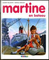 "{26323} G Delahaye & M Marlier, Martine En Bateau, 1986.   "" En Baisse "" - Martine"
