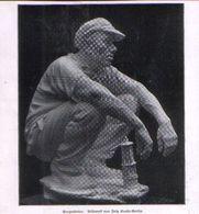 Bergarbeiter (Bildwerk Von Fritz Koelle, Berlin) / Druck, Entnommen Aus Zeitschrift / 1930 - Books, Magazines, Comics