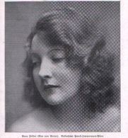 Eva Von Berne  / Druck, Entnommen Aus Zeitschrift / 1930 - Books, Magazines, Comics