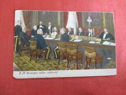 HM Konungen Haller Statsrad,  Ref 3010 - Royal Families