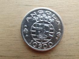 Angola  10  Escudos 1955  Km 73  Argent  Tb - Angola