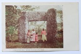 A Pre-Historic Relic, Gateway To A Holy City, Tonga, Early 1900s - Tonga