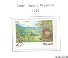 Moldavia PO 1992 Pres.Natura Codrii Scott. 25+ See Scan On Scott.Page - Moldavia