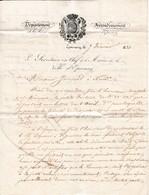 EPERNAY (51) - 7 Février 1831 - Lettre Relative à Une Liqueur à Dégraisser - Maison CHANDON - - Documents Historiques