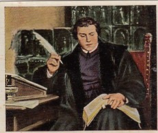 Les Grands De L'histoire - N°21 MARTIN LUTHER - Cartes De Cigarettes Allemandes Eckstein No. 5 De 1934 - Raritat - Cigarette Cards