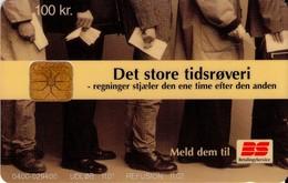 TARJETA TELEFONICA DE DINAMARCA. DD212T,  Bs Tidsroevere 11.01. (102) - Denmark