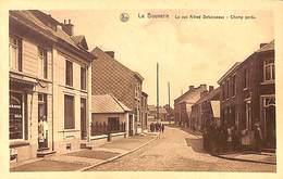La Bouverie - La Rue Alfred Defuisseaux - Champ Perdu (bijouterie, Animaée, Edit. L. Wuillot) - Frameries