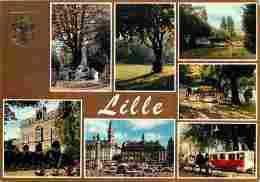 59 - Lille - Multivues - Automobiles - Carte Neuve - Voir Scans Recto-Verso - Lille